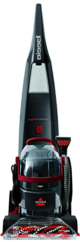 BISSELL ProHeat 2X Lift-Off Carpet Washer, 1000 W, Titanium/Red