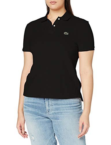 Lacoste PF7839 Polo, Black, 38 para Mujer