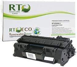 Renewable Toner Compatible Toner Cartridge Replacement for HP 05A CE505A Laserjet P2035 P2055 (Black)