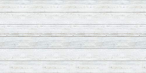 Fadeless Bulletin Board Art Paper, White Shiplap, 48