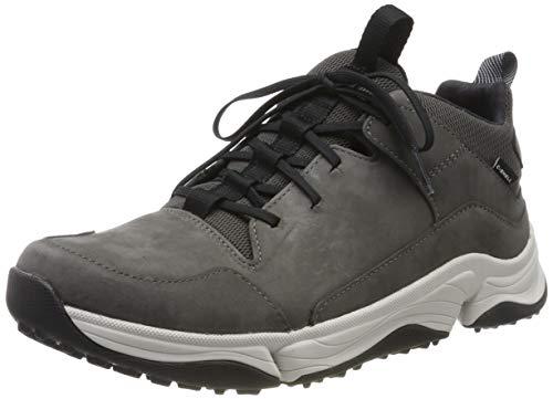 Clarks Herren Tri Path Mid Hohe Sneaker, Grau (Dark Grey Combi Dark Grey Combi), 43 EU