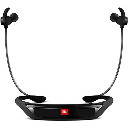 JBL Reflect Response Drahtlose Bluetooth Sport-Kopfhörer mit Berührungssteuerung und Mikrofon Schweißabweisend Ergonomisch mit Reflektivem Kabel Kompatibel mit Apple iOS und Android Geräten - Schwarz