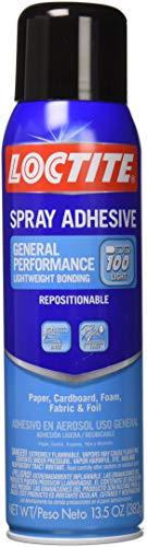Loctite 2235316 General Performance 100 Spray Adhesive, Single, Tr 13.5 oz Translucent