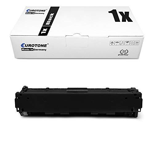 1x Eurotone kompatibler Toner für HP Color Laserjet CP 1210 1213 1214 1215 1216 1217 1513 1514 1515 1516 1517 1518 1519 NI N ersetzt CB540A 125A