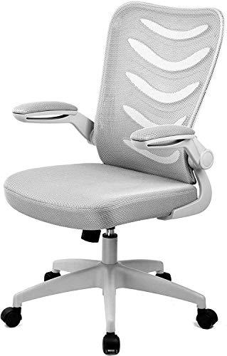 GTXMAN オフィスチェア デスクチェア メッシュ 椅子 ハイバック パソコンチェア 事務用椅子 通気性 昇降機能付き ロッキング機能 106-GRAY
