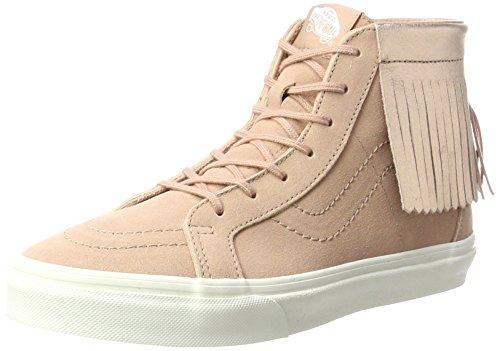 Vans Unisex-Kinder Sk8-hi Moc Sneaker, Mehrfarbig (Metallic/Rose Gold), 31 EU