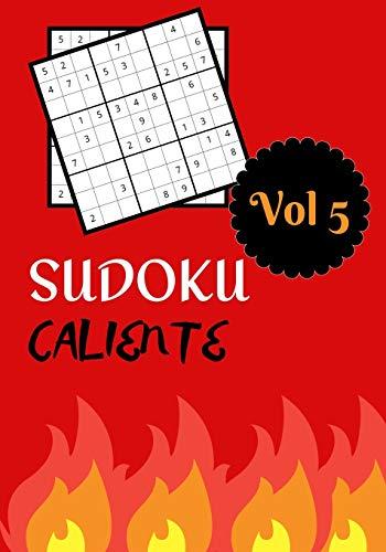 SUDOKU CALIENTE: Vol 5   Nivel dificil con soluciones