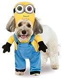 Disfraz Oficial de Minion Bob, para Perro Caminando, Talla Grande