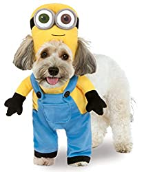 minion costume for dog