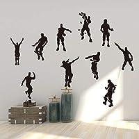 Vercico Character Action - Adhesivo Decorativo para Pared, diseño de garabato...