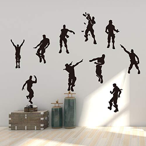 Vercico Kreativer Wandsticker für Kinder, für Schlafzimmer, Spiele, Vinyl-Wanddekoration (#3)