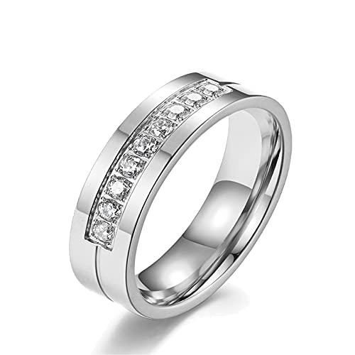 Anillos De Compromiso Oro Blanco Y Diamantes Precios marca Ahloe Jewelry