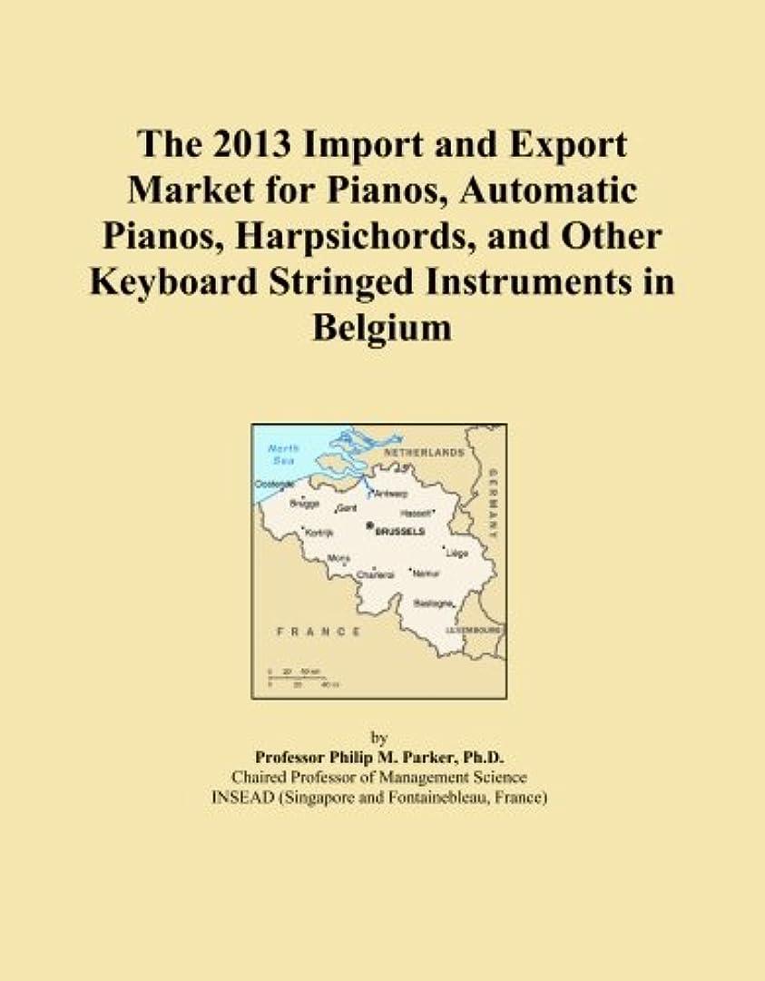 群がる海専門用語The 2013 Import and Export Market for Pianos, Automatic Pianos, Harpsichords, and Other Keyboard Stringed Instruments in Belgium