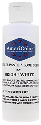 White Gel Food Color