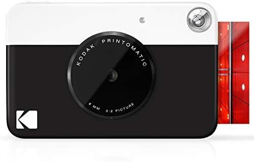 KODAK Printomatic Digital Instant Print Camera Full Color Prints On ZINK 2x3 Sticky Backed Photo product image