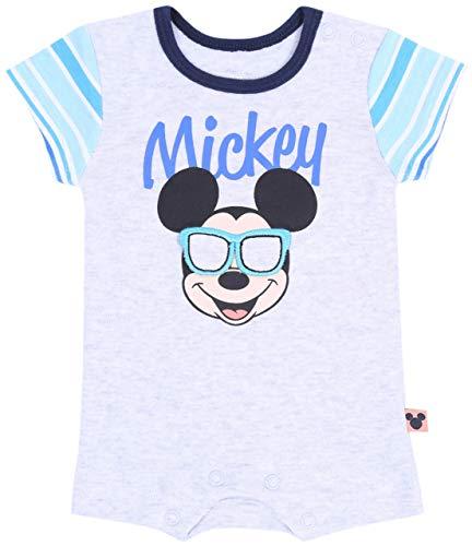 Corps de Souris Gris Mickey Disney 0-3 Mois