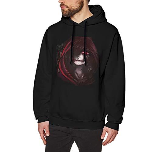 CAOI UUC Jeff The Killer Avantgarde Men Hoodie Sweatshirt Black Large