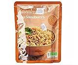 Sainsbury's Microondas Arroz Marrón 250g - Arroz de grano largo cocido.
