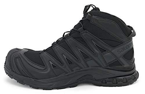 Salomon Unisex XA Forces MID GTX EN Military and Tactical Boot, Black/Black/Black, 12 US Men