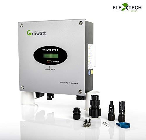 Growatt 2500MTL-S Wechselrichter mit 2 MPPT für 2 verschiedene Dachausrichtungen von bau-tech Solarenergie GmbH