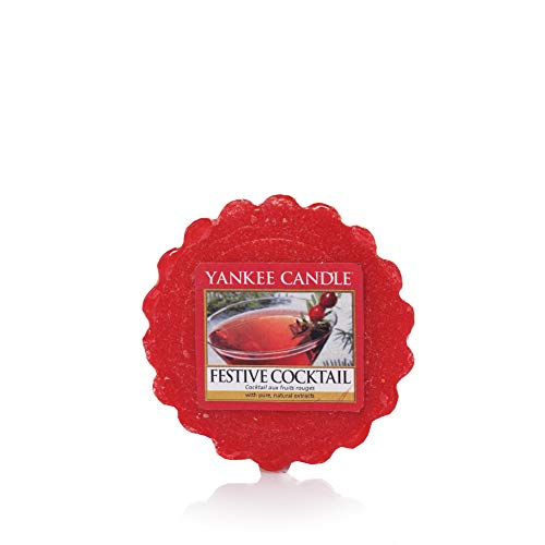 Yankee Candle Festive Cocktail Wax Melt, Red