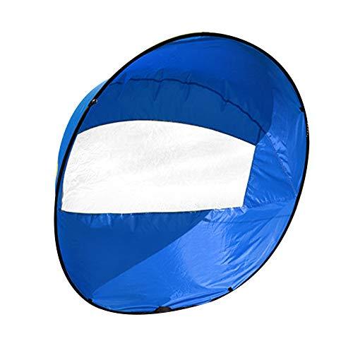 Exnemel 42 Zoll Kajak Windsegel Paddel, Kajak Windsegel Wind Paddel für Downwindow Paddle Board, Rudern, Windsegel (Blau)
