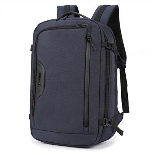 beibao shop Backpack - Grande capacité Entreprise Sac à Dos d'ordinateur Poids léger imperméable Antivol Sac à Dos pour Ordinateur Portable Antichoc Salle Informatique, Blue