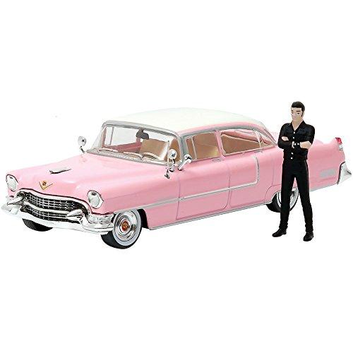 Greenlight Elvis Presley - 1955 Pink Cadillac Fleetwood 1:43 w/ Figura