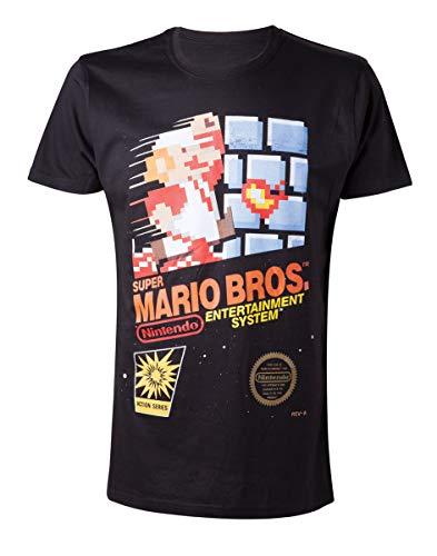 Super Mario Game Cover T-shirt noir M