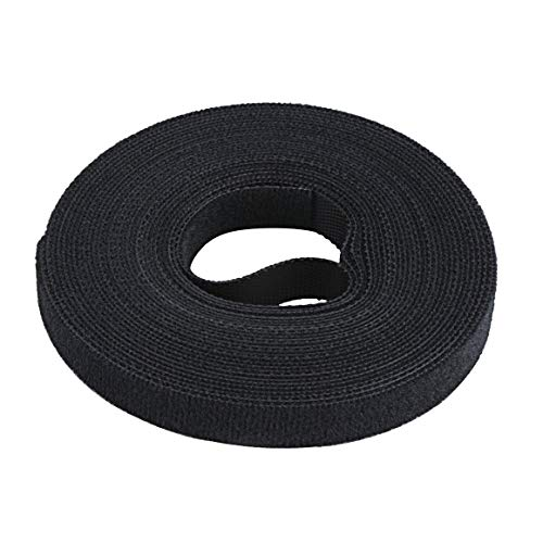 BiaBai 10 mm de Ancho Velcro Cable Tie Cable Manager Winder Cable...