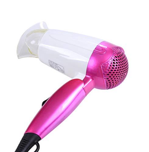 QJXSAN Salón Profesional iónico Secador de Pelo Peso Pluma, Dual Ion secador del Soplo 1200 vatios eficiente hidratación, Suave y Libre de encrespamiento (Color : Pink)