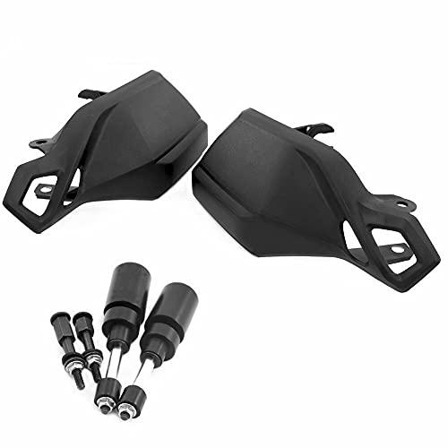 SHIHAOLAN Motorrad-Handschutz kompatibel mit Suzuki V-Strom DL1000 2014–2019 Handprotektoren Lenkerschutz DL 1000 V Strom 2018 (Farbe: komplett)