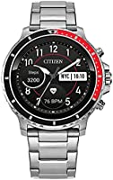 Deal on Citizen CZ Smart Touchscreen Smartwatch, Heartrate, GPS, Speaker, Bluetooth, Notifications, iPhone and Android...