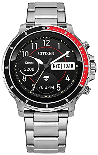 Citizen CZ Smart Touchscreen Smartwatch, Heartrate, GPS, Speaker,...