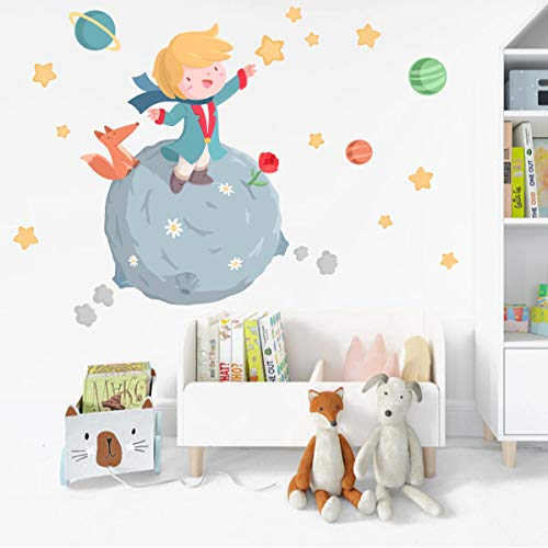Vinilo infantil para bebé - Pequeño príncipe - T2 - Mediano