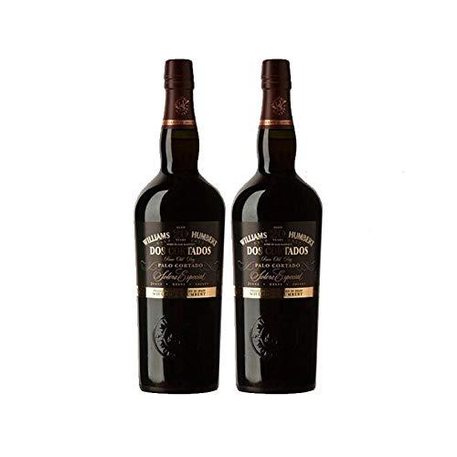 Vino Palo Cortado Dos Cortados 20 años de 75 cl - D.O. Jerez-Sherry - Bodegas Williams & Humbert (Pack de 2 botellas)