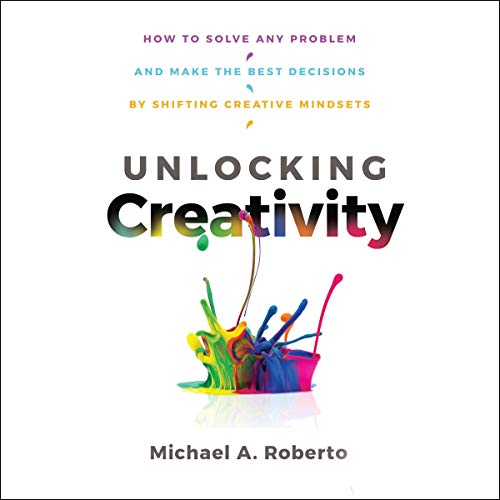 Unlocking Creativity audiobook cover art