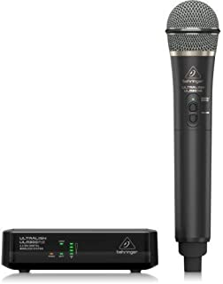 Behringer ULM300MIC High-Performance 2.4 GHz Digital Wireless System with Handheld Microphone