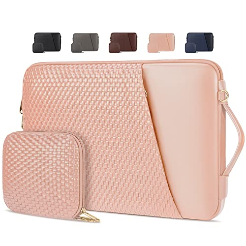 Laptop Sleeve 14InchLaptopCase Waterproof Handle Laptop Bag Compatible with 3.3-14 inch Notebook,Gifts for Men Women