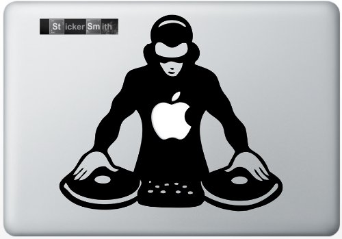 Dj Macbook Decal Mac Decal Macbook Pro Laptop Sticker Vinyl Decal Mac Apple Skin 13 15 17