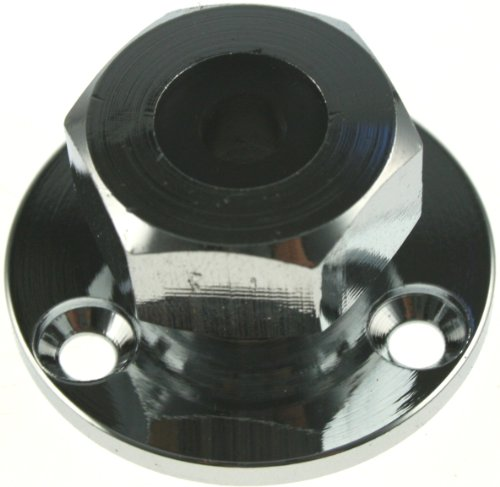 ARBO-INOX - Kabeldurchführung - Decksdurchführung - Edelstahl oder Messing verchromt (12mm)