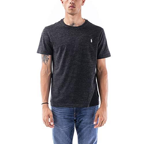 Ralph Lauren Herren Slim-Fit T-Shirt Dunkelgrau L