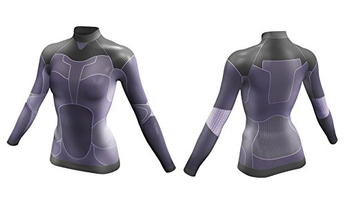 Señora camisa bicicleta manga corta funcionalmente topcool talla xs Crivit