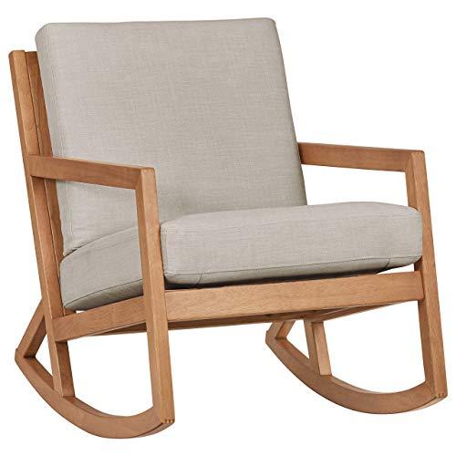 Stone & Beam Modern Hardwood Rocking Chair