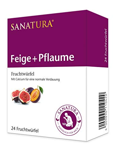 Sanatura Feige-Pflaume Früchtewürfel, 240 g, 042