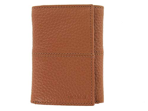 Cole Haan Trifold Men's Wallet Brown Leather