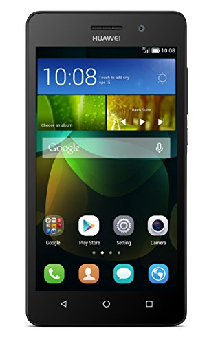 Huawei G Play Mini Smartphone (12,7 cm (5 inch) HD-display, octa-core processor, 13 megapixel camera, 8 GB intern geheugen, Android 4.4), zwart