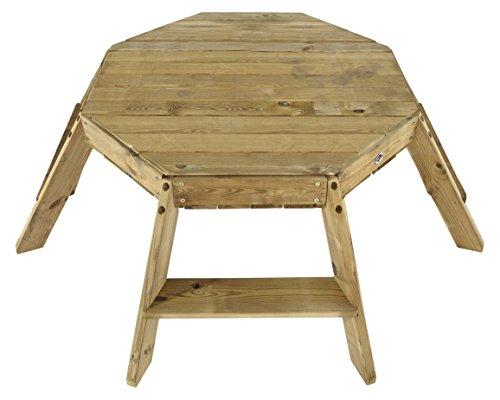 Plum Oktagon Spieltisch aus Holz