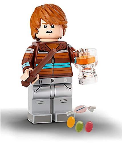 Serie 2 Lego® 71028 Harry Potter™ Minifiguren Figur 04 Ron Weasley zusätzlich 1 x Sticker-und-co Fruchtmix...