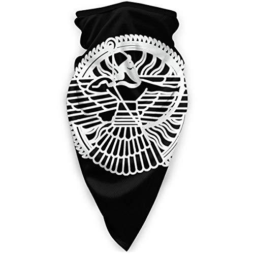 XCNGG Máscara Facial Transpirable con símbolo asirio, máscara Deportiva a Prueba de Viento, Bufanda al Aire Libre, Cuello, Turbante cálido, Sombrero, Bufanda